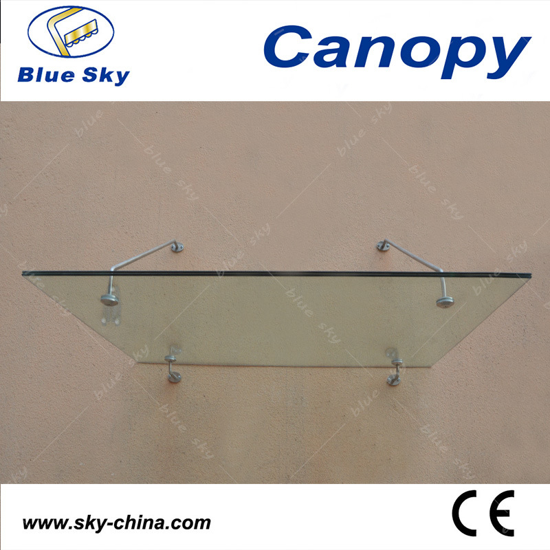 Glass Roof and Stainless Steel Door Canopy (B900)