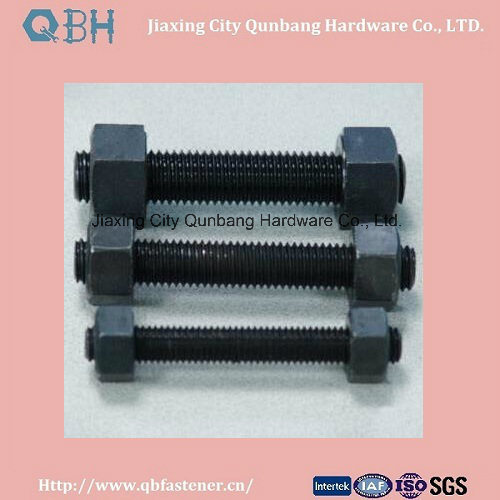 "Heavy Hex Bolts ASTM A193 B7 1/4""-2"" Black"