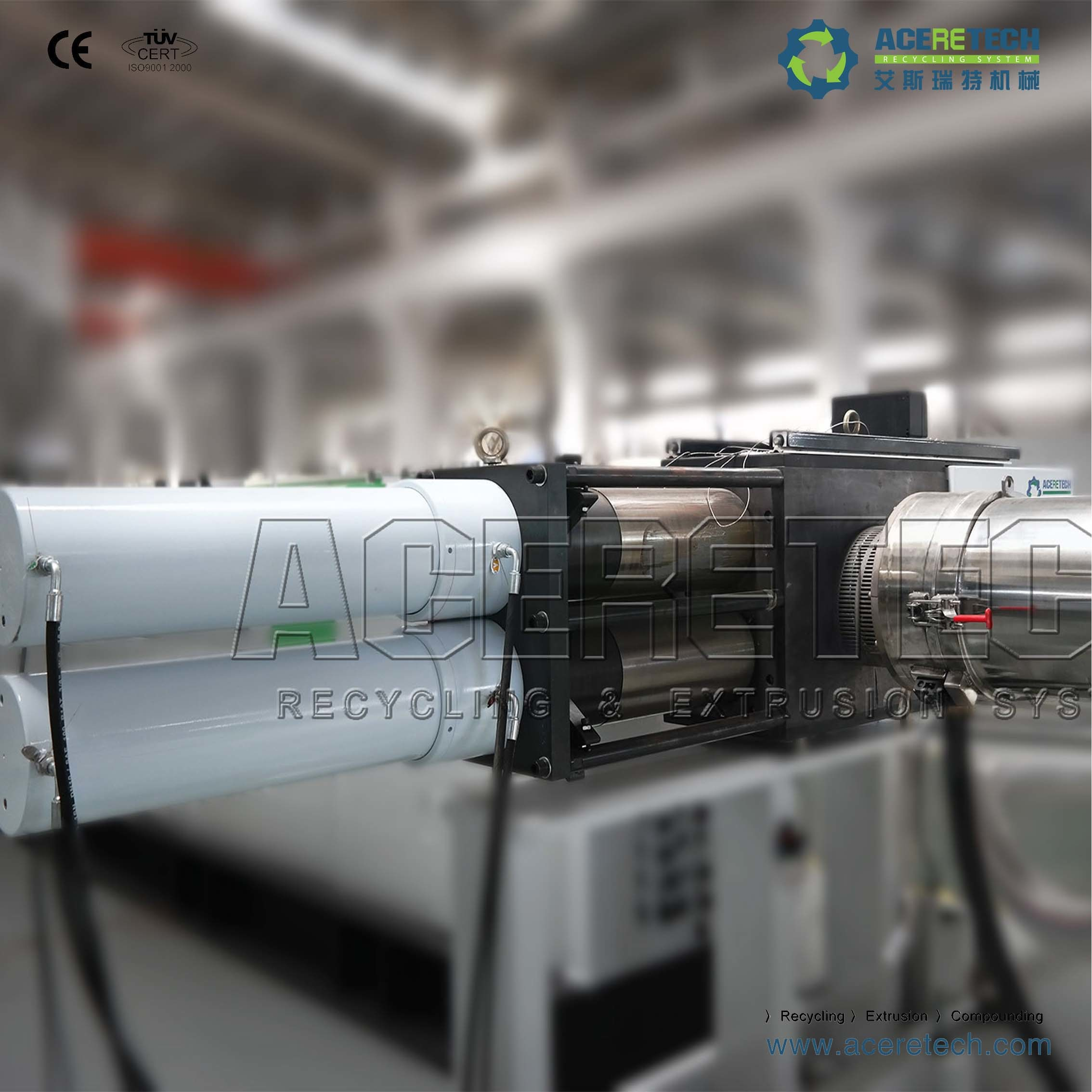 Austria Technology Single Screw Recycling Pelletizing Line
