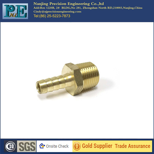 ISO 9001 Passed Custom Brass CNC Machined Part