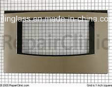Pattern Color Fritted Tempered Oven Door Glass