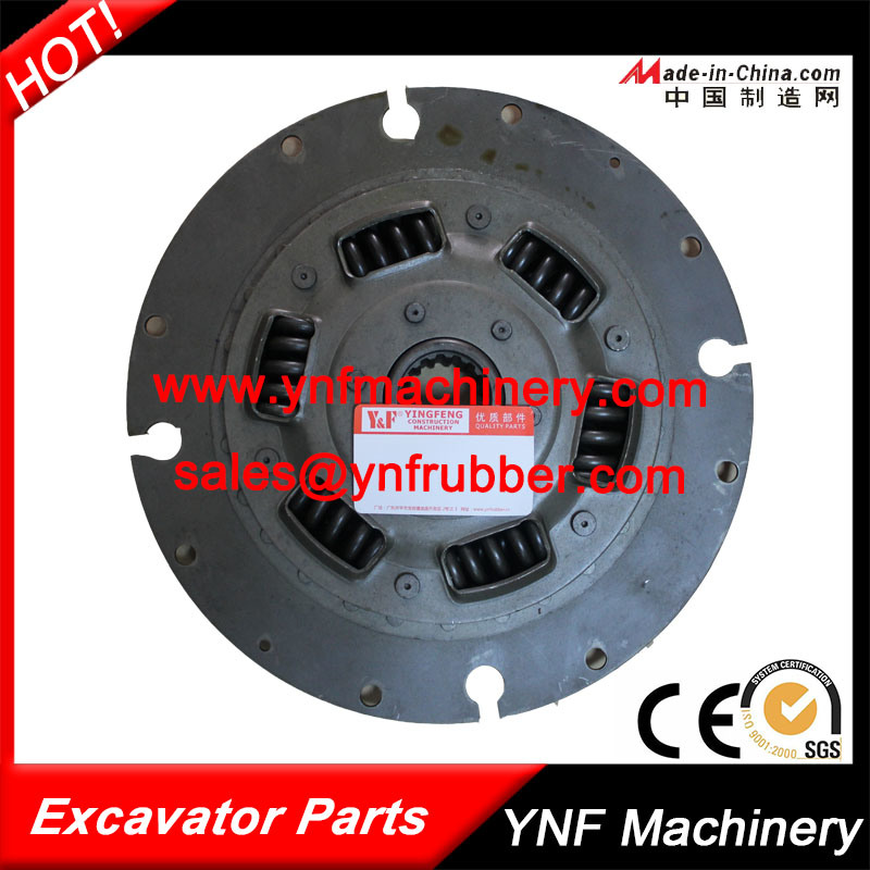6D105 Clutch Plate Damper Plate for Komatsu PC400-6 PC200-6 Excavator