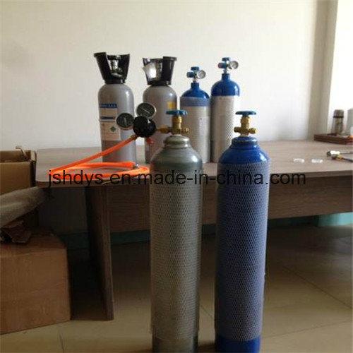 2L Seamless Steel Oxygen Hydrogen Argon Helium CO2 Gas Cylinder (GB5099)