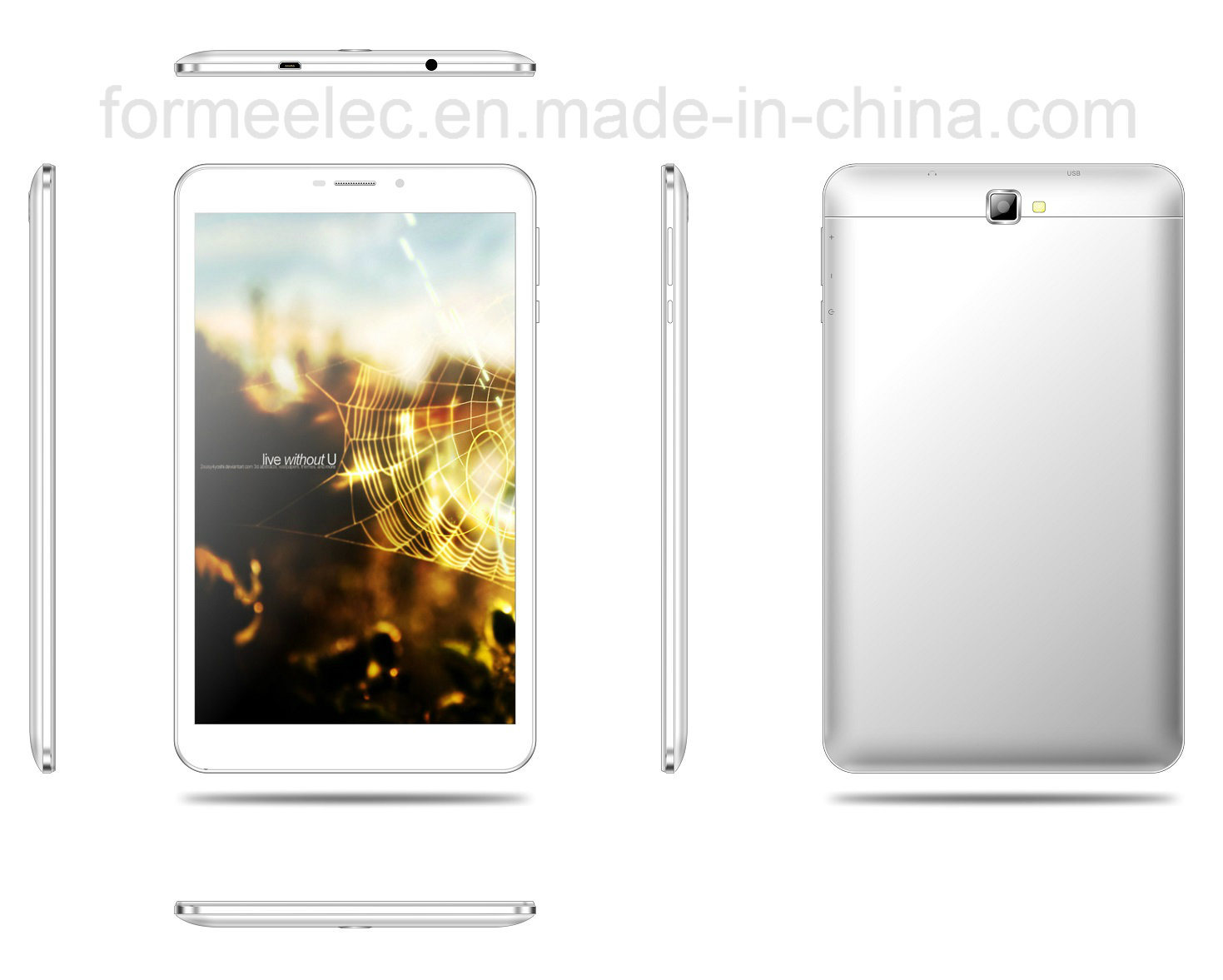 8inch FDD 4G Tablet PC MID Android5.1 Mtk8735p 1GB8GB