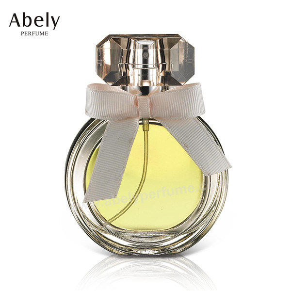50ml Designer Glass Perfume Bottle with Luxury Crystal