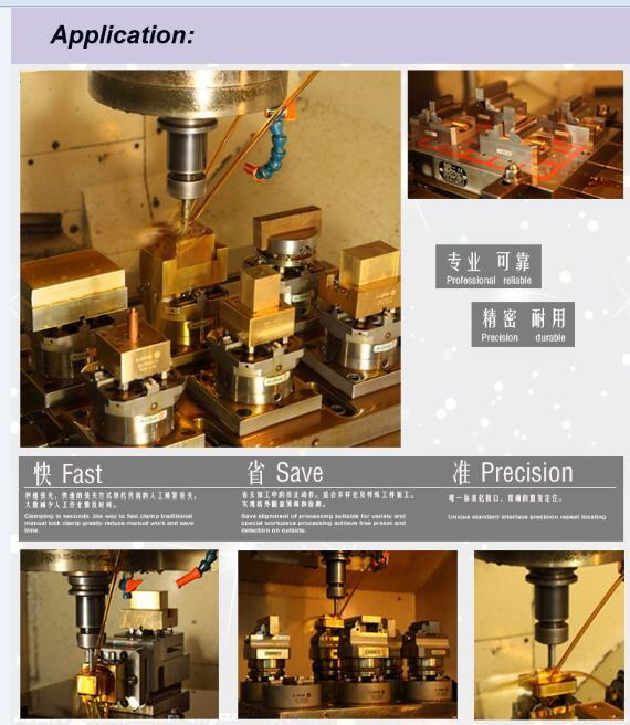 a-One Erowa Its 4 Jaw CNC Pneumatic Chuck for CNC Machine