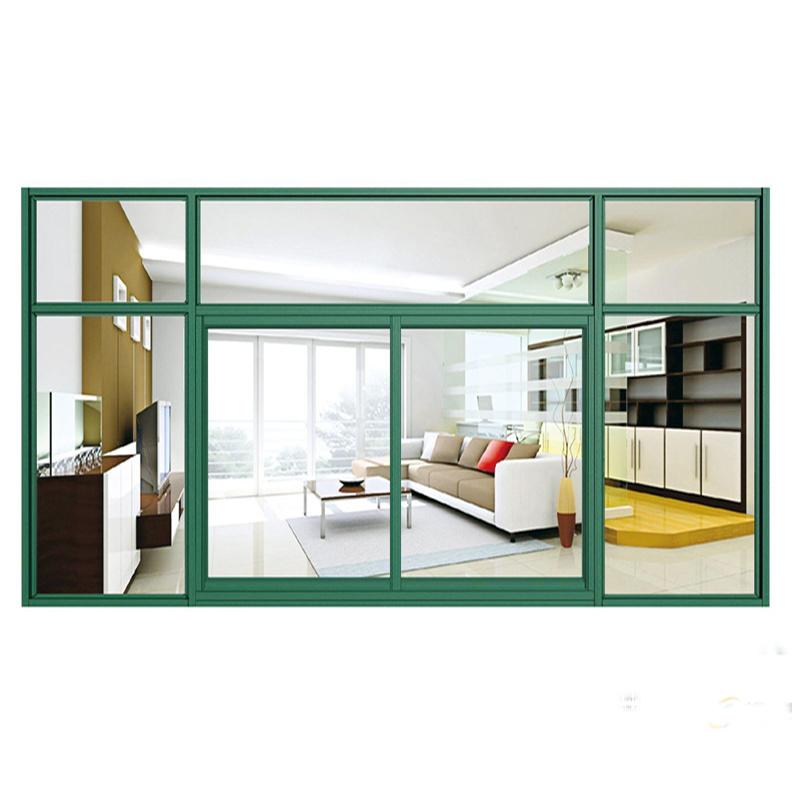 Feelingtop Thermal Break Powder Coated Aluminum Insulating Window and Door