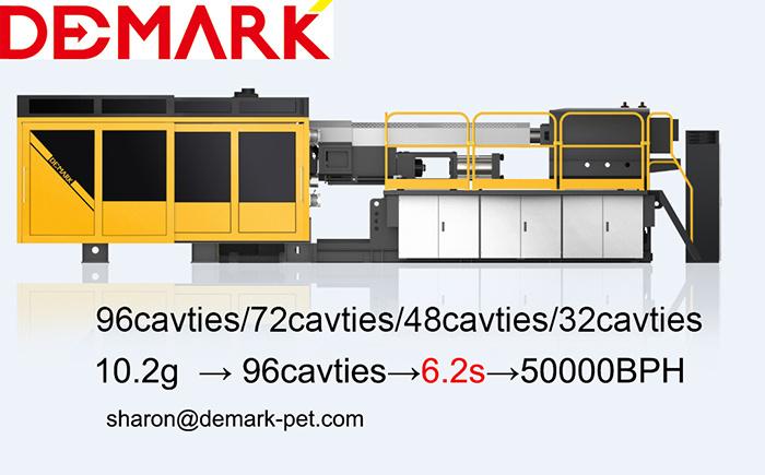Demark IPET400/5000 Preform Injection Moulding Machine, Plastic Injection Moulding Machine