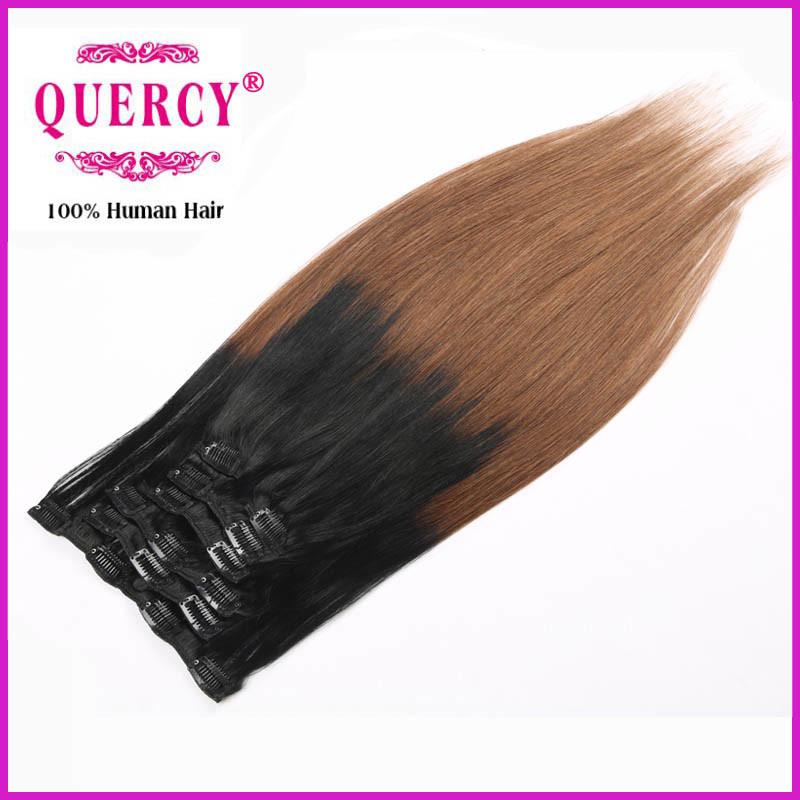 Wholesale Unprocessed Premium Brazilian Clip Hair