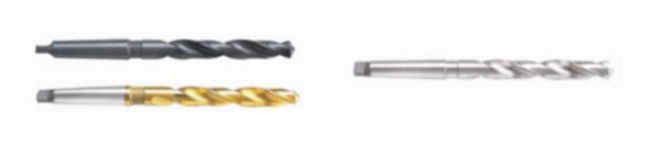 HSS Tapered Shank Twist Drill Bits