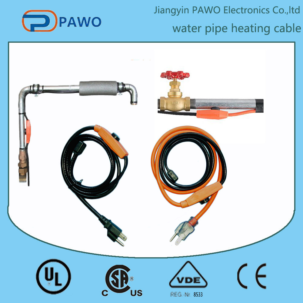 Defrost Heating Cable for Pipe Heating with Power Indicator Light