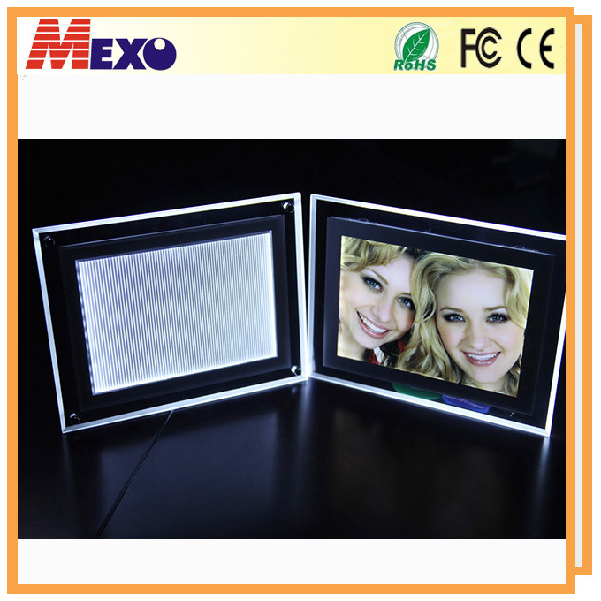 LED Picture Frame Crystal Light Boxes (CST01-A5L-01)