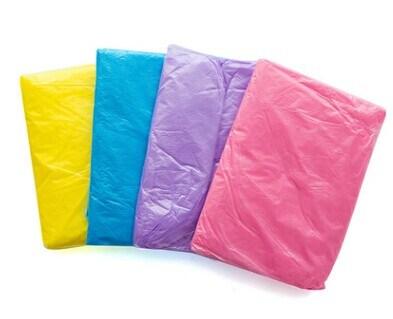 Emergency Adult Light Waterproof PE Disposable Rain Poncho with Hood
