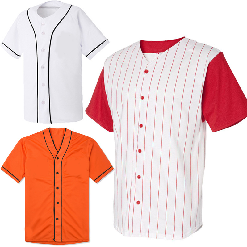 2015 Unisex Mens Softball Game Jersey and Baseball Jersey