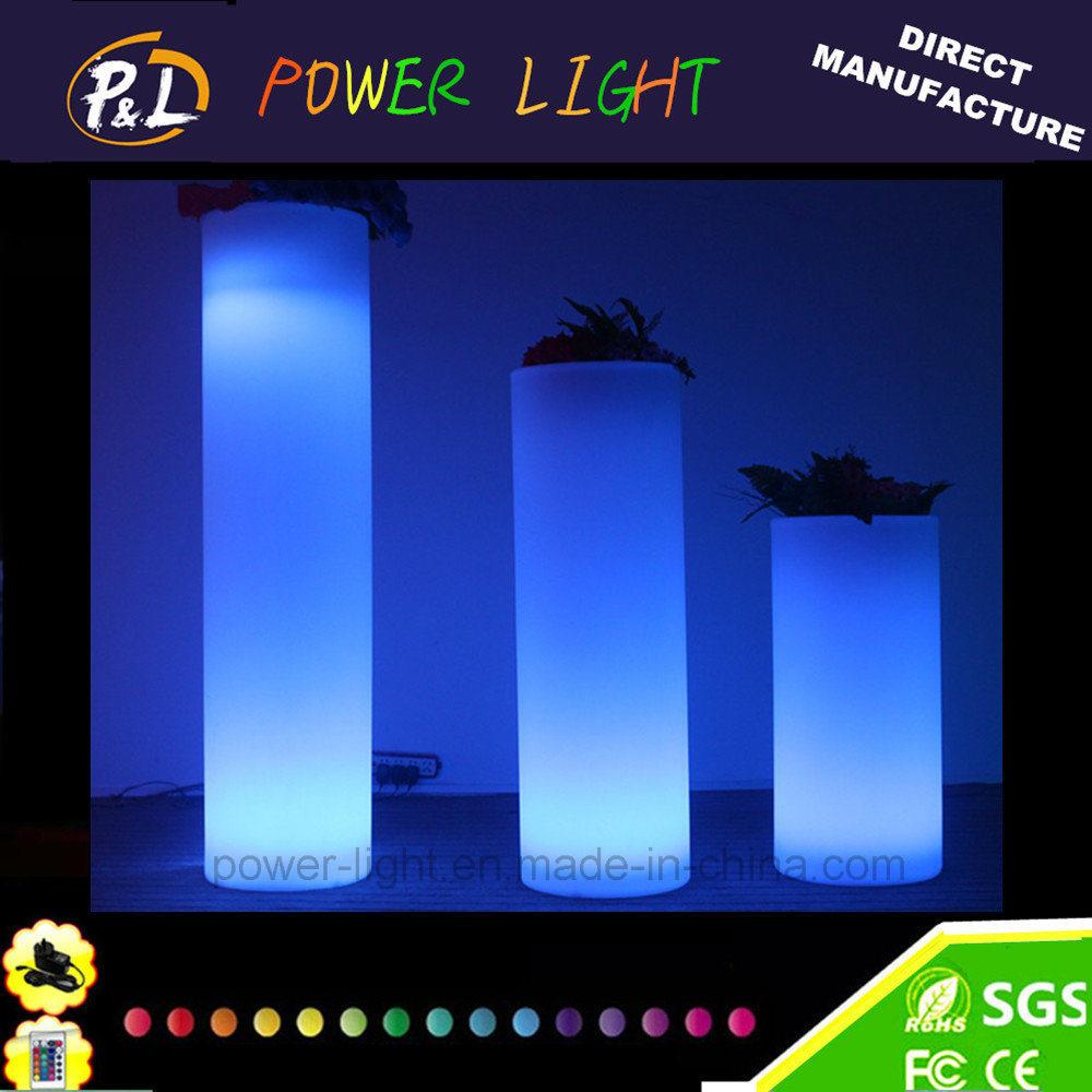 Garden Furniture Rechargeable Illuminated LED Vase