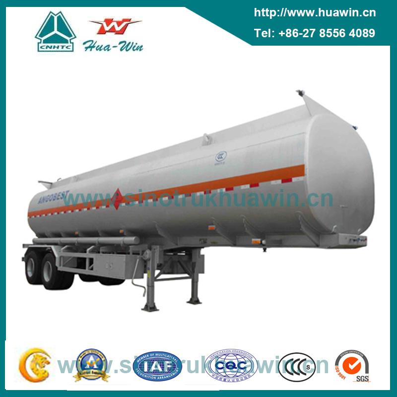 2 Axle Oil Tank Semi Trailer with BPW Axle