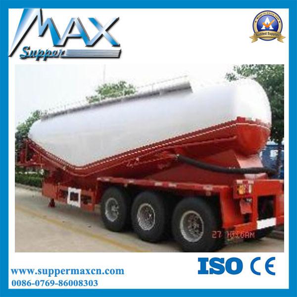 3 Axle Bulk Cement Semi Trailer with Tractor
