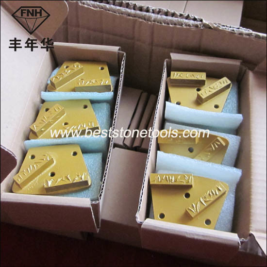 PCD-2 Metal Bond Concrete Hybrid PCD Diamond Grinding Polishing Disc