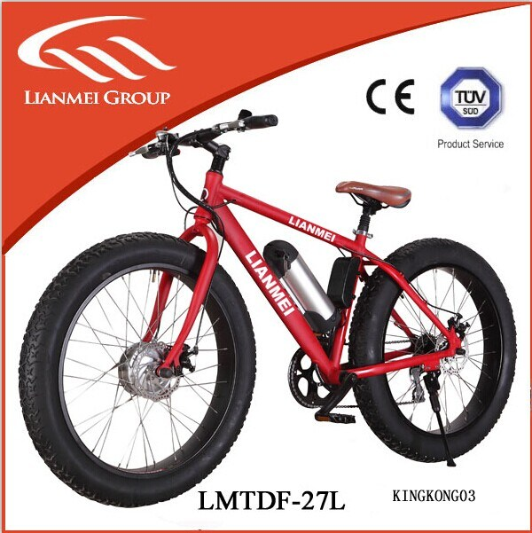 2016 Hot Sale Fat Tyre Ebike for Sale 26′′ Aluminium Alloy No Folding Modern Hot Sale 48V 10ah Electric Bike Fat