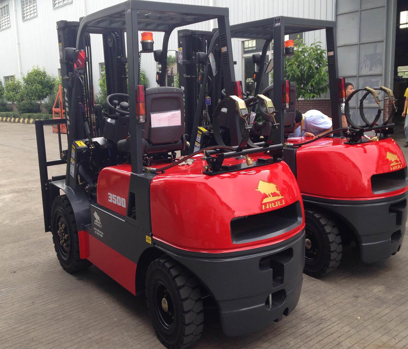 Niuli 3.5t Best Sell Eletric Forklift Truck