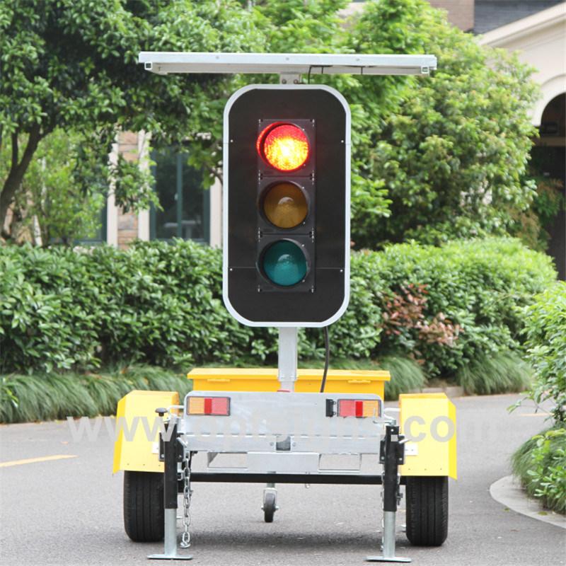 Solar Power Road Safety 12V Traffic LED Signal Lights