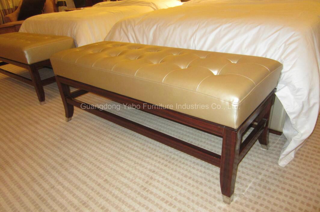 Bedroom Furniture Leather Bed End Bench