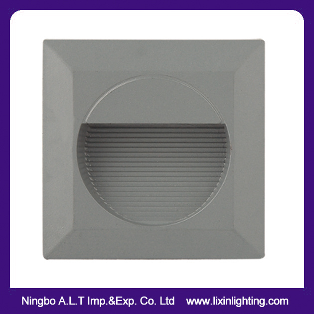 Round & Square LED Step Light, LED Floor Light, LED Recessed Wall Light,