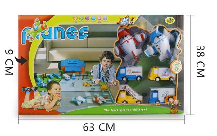 Planes Toys for Children, Pullback Plane Toy Airplane Set Toys