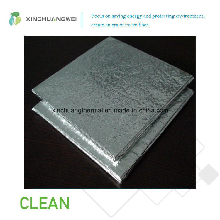 Vacuum Insulation Panel Fiberglass Thermal Insulation Low Conductivity Material