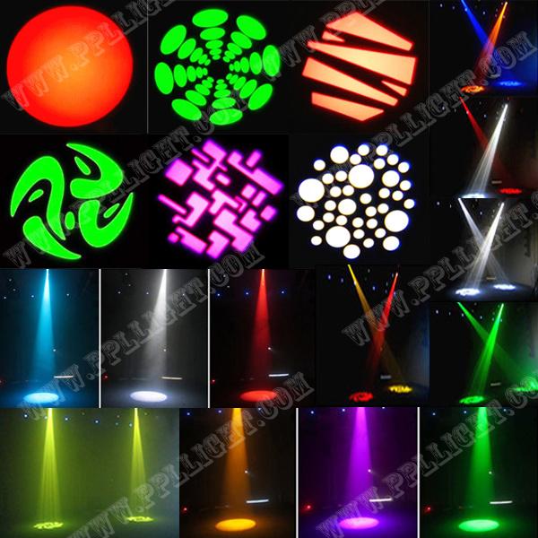 1PCS *60W Single White Bright LED Spot Moving Head Light