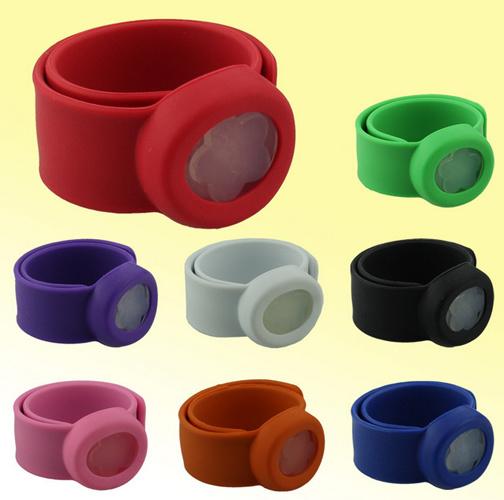 Colorful Design Anti-Mosquito Silicone Wristbands