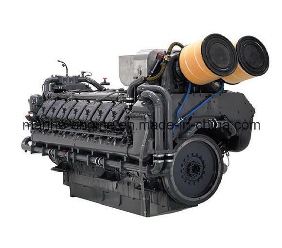 1680kw/1860rpm Hechai Deutz Tbd620V12 Diesel Marine Engine
