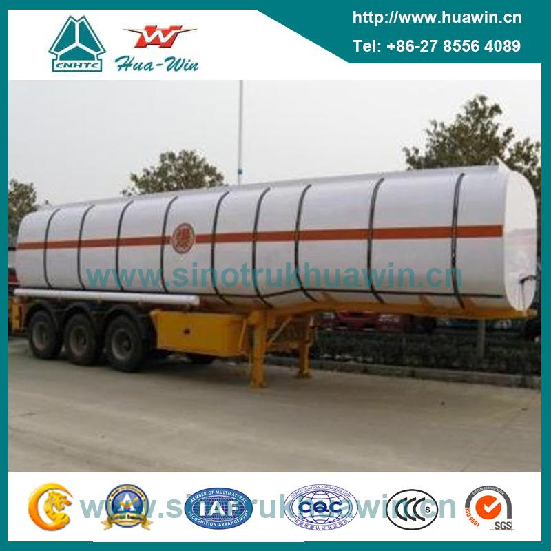 3 Axle 4000liters / 35000liters BPW Axle Fuel Tanker Semi Trailer