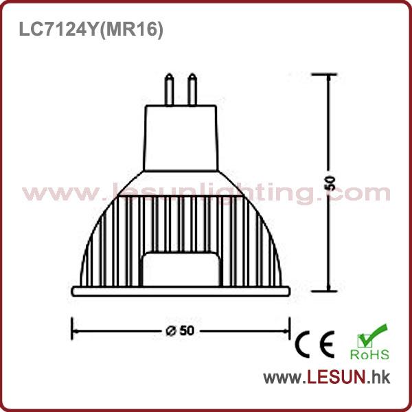 4 W MR16 DC/AC 12V LED Bulb Spotlight for Jewelry Showcase