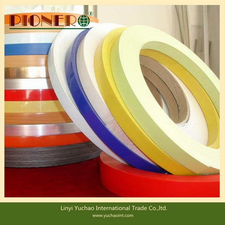 PVC Edge Banding Tape for Furniture with India Market