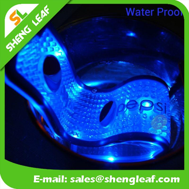 3D Soft PVC LED Brand Bar Runner Mat