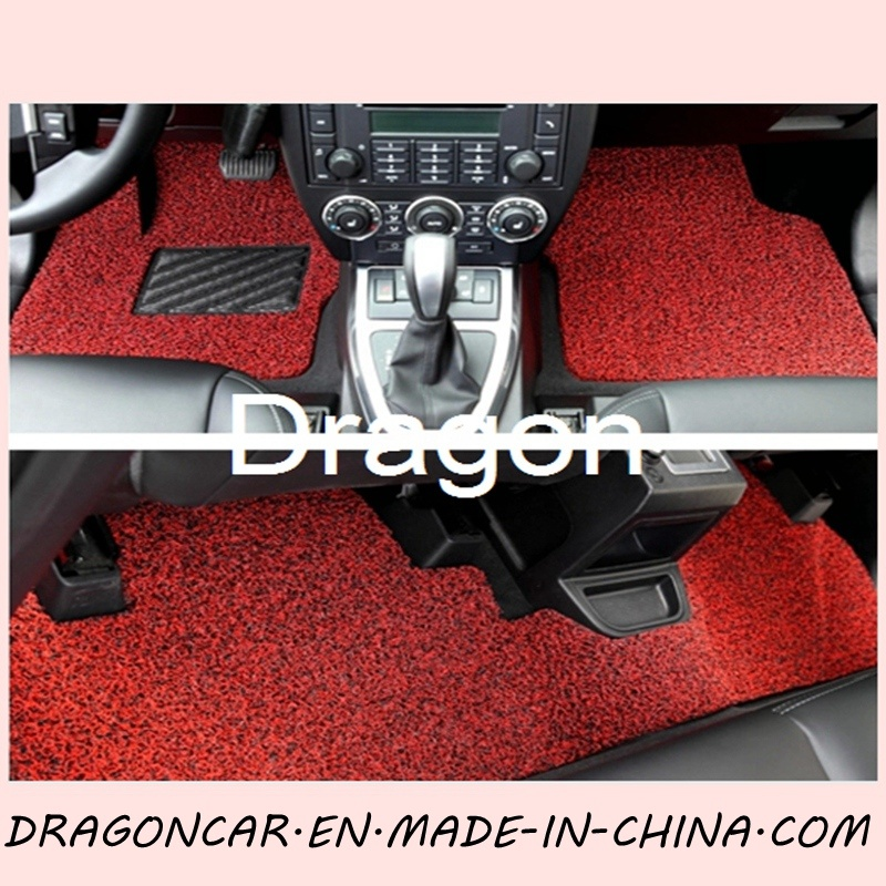 PVC Coil Mat Car Floor Carpets