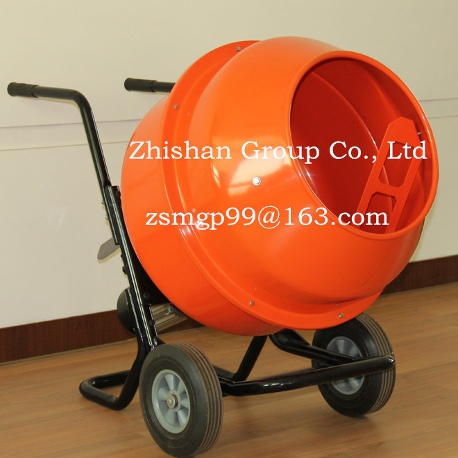Cm260s (CM50S-CM350S) Portable Electric Gasoline Diesel Cement Mixer