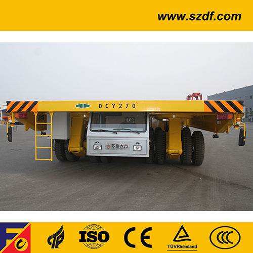 Dcy270 Self-Propelled Heavy Duty Hydraulic Platform Shipyard Transporter