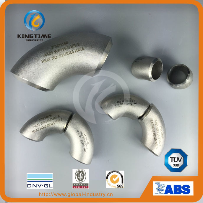 Wp316/316L Stainless Steel Fitting 30d Elbow with TUV Pipe Fitting (KT0119)