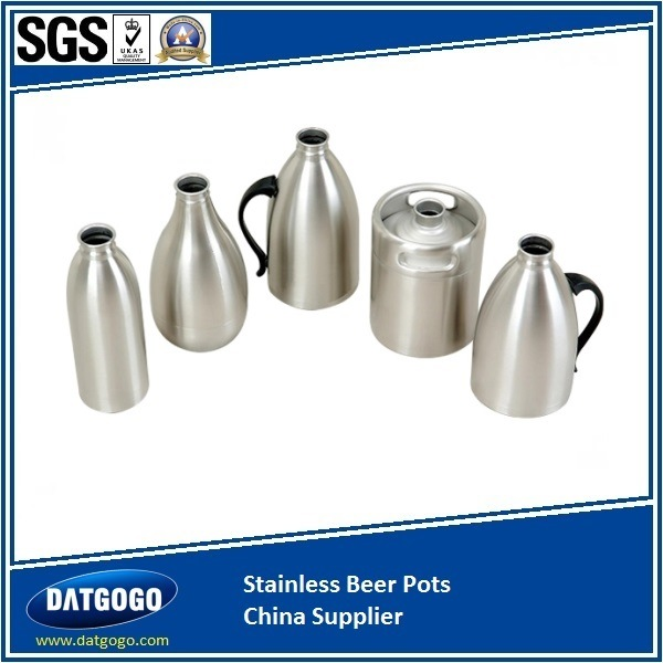 SUS316 Beer Pot & Barrel Bp2.0L with Polish Finish