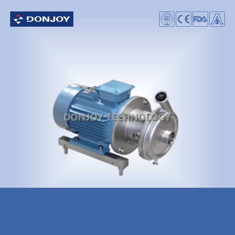 Food Grade Stainless Steel Centrifugal Pump with Close Impeller