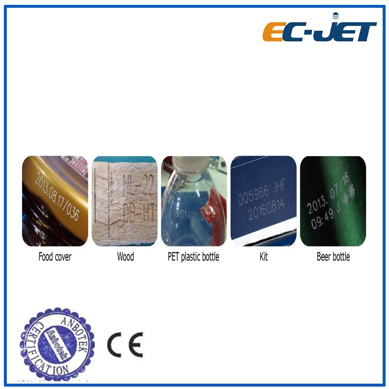 Date Code Marking Machine CO2 Laser Printer with Ipg Source