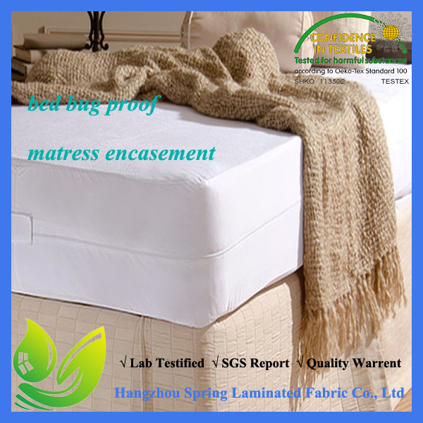 Hypoallergenic Waterproof Bed Bug Mattress Encasement