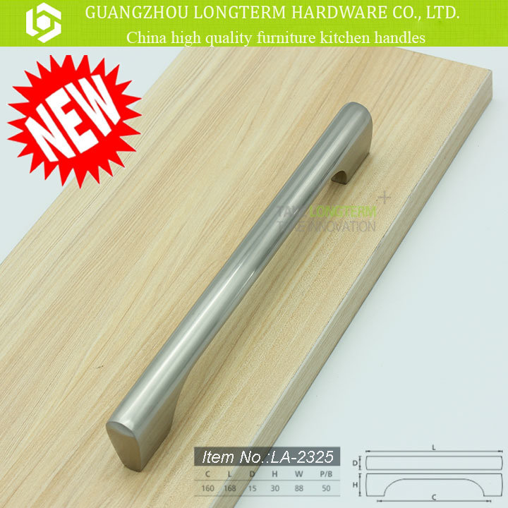 Zinc Alloy Brushed Nickel Cabinet Kitchen Handles