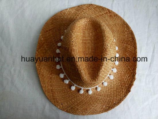100% Handmade Raffia Straw Leisure Style Safari Hats