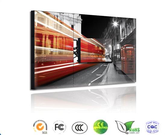 46 Inch Ultra Narrow Bezel Exhibition LCD Video Wall