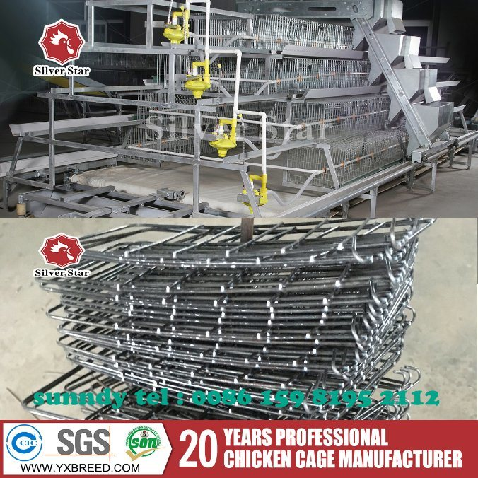 Poultry Farming 1.9X 2.3 Bird Cage for Chicken