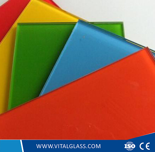 3mm, 4mm, 5mm Colour Painted Glass