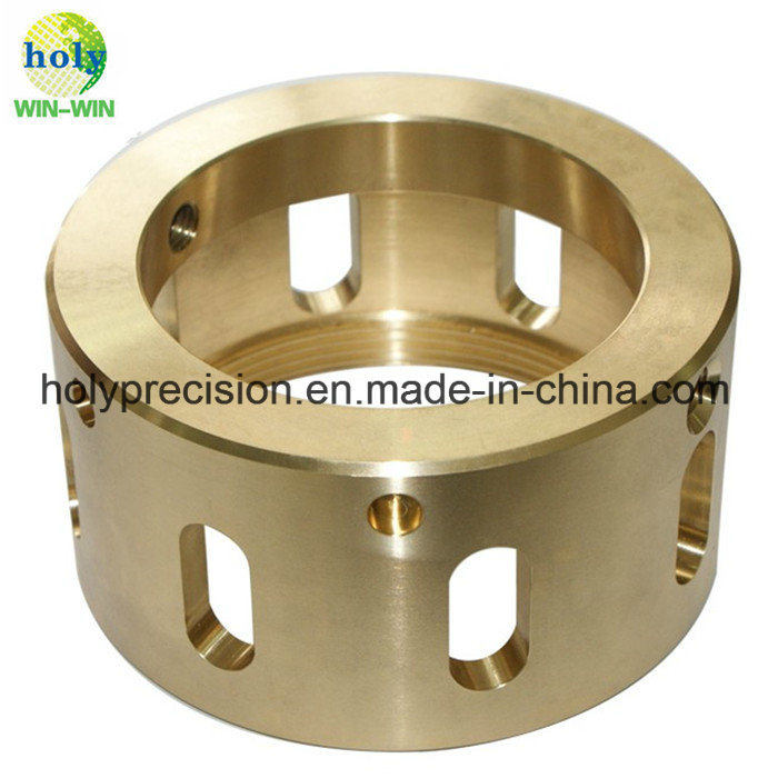 ISO 9001 CNC Parts of Brass/Aluminum/Stainless Steel